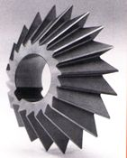 High Speed Steel Single Angle Milling Cutters - TiN Coated